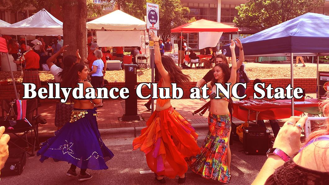 Header image for the NC State bellydance club.