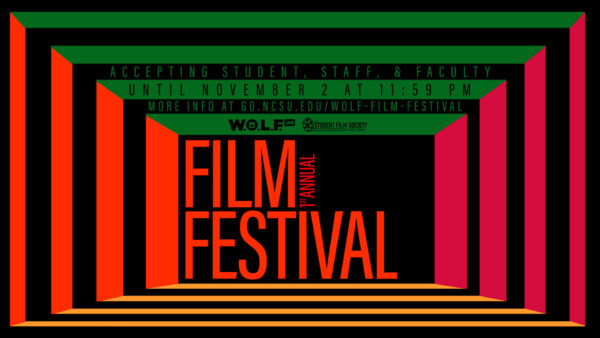 UAB's WOLF committee's Virtual Film Festival