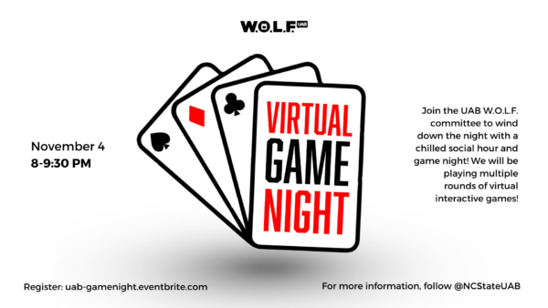 wolf graphic for game night