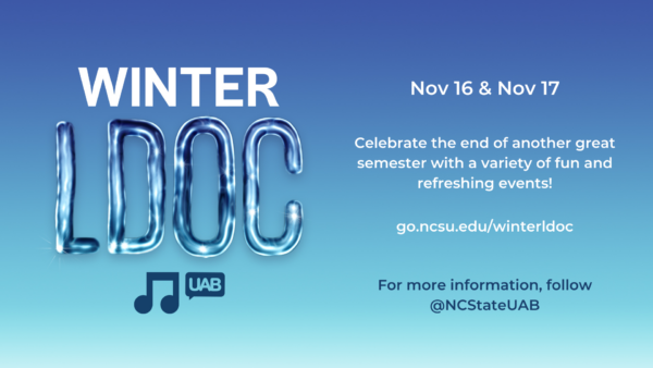 UAB Concert Committee's Winter LDOC for 2020!