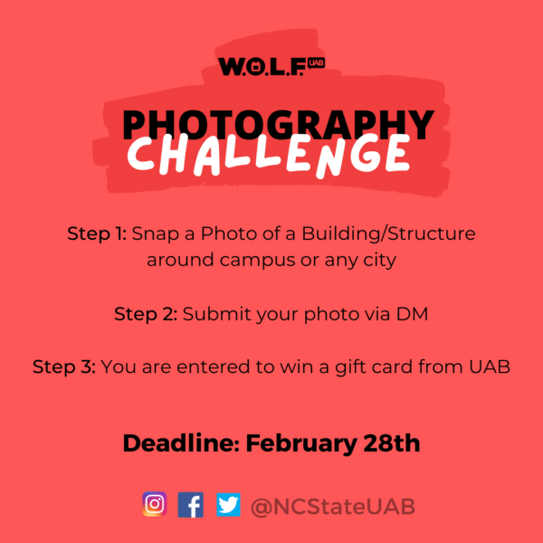 UAB Photography Challenge