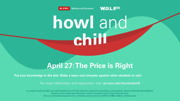 UAB WOLF Howl and Chill for April