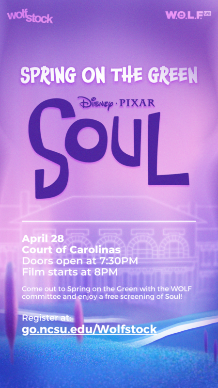 Promo for UAB Spring on the Green - Soul Showing